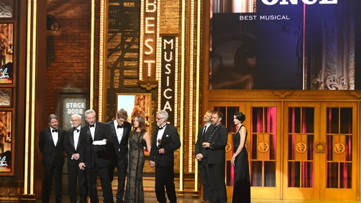 'Once' Wins Best Musical, Seven More at Tony Awards