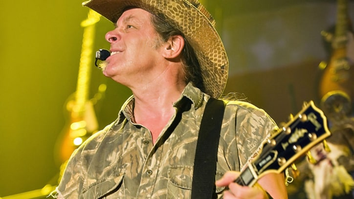 Ted Nugent Blasts Immigration Reform and Gun Control at Texas Biker Rally
