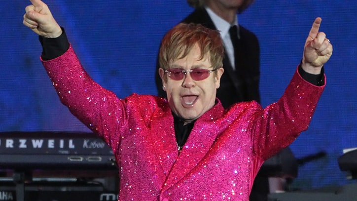 Elton John Will Headline Peace Day Benefit in London