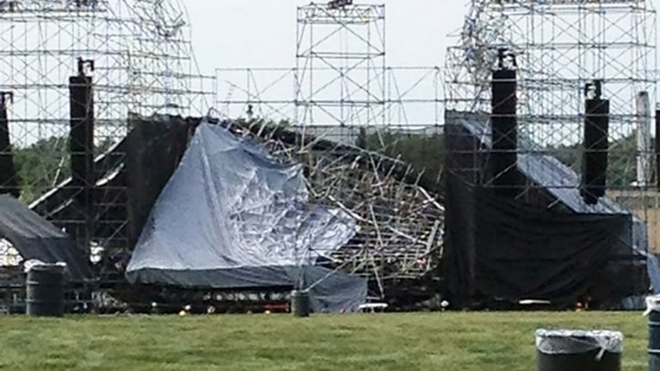 Radiohead's Stage Collapse Investigated by Canadian Ministry of Labour