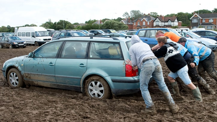 Rain and Mud Dominate Isle of Wight Festival