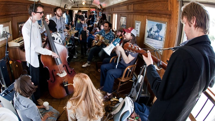 'Big Easy Express' Captures Mumford & Sons, Edward Sharpe on Railroad Revival Tour