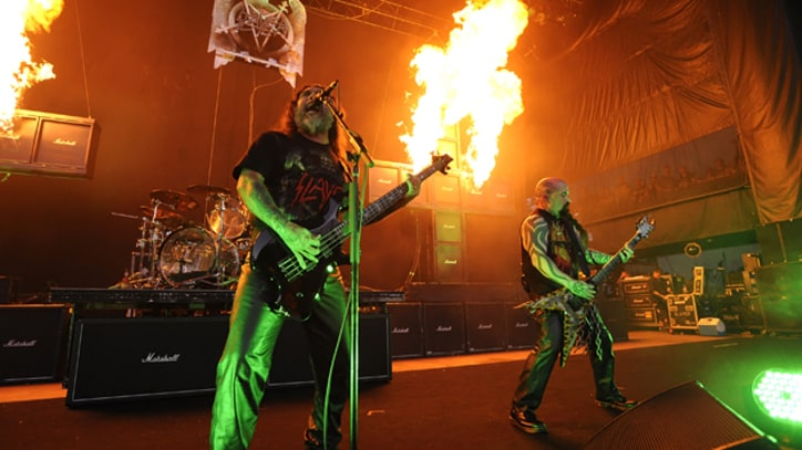 Slayer Ramp Up Work on New Album