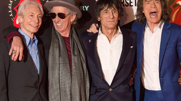 Rolling Stones Gather in London for 50th Anniversary Exhibit
