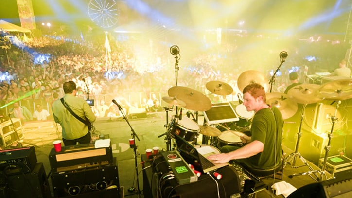 Skrillex, Bassnectar and Disco Biscuits Bond at Camp Bisco