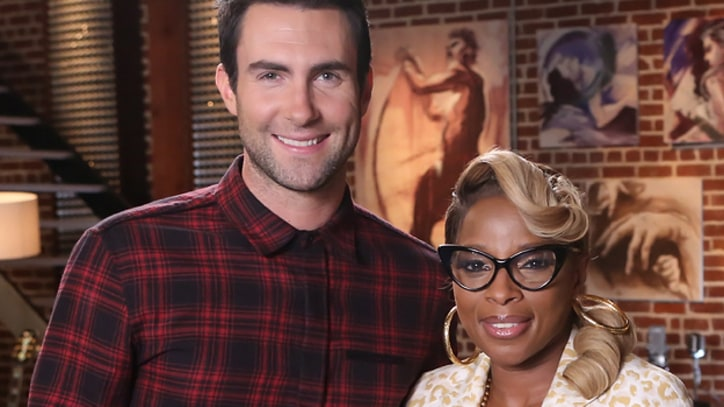 Mary J. Blige Joins Adam Levine's Team on 'The Voice'