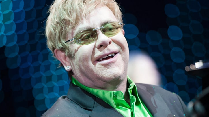 Elton John Regrets Past Drug Use