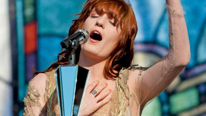 Florence Welch Finds Her Voice in Vancouver