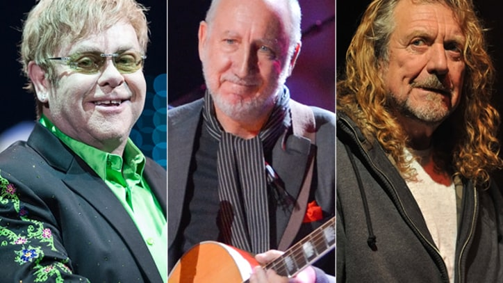 Elton John, Pete Townshend, Robert Plant Sign Anti-Piracy Letter to British Prime Minister