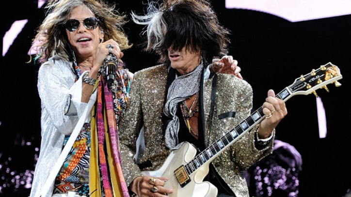 Aerosmith Tap Johnny Depp, Carrie Underwood for 'Another Dimension'