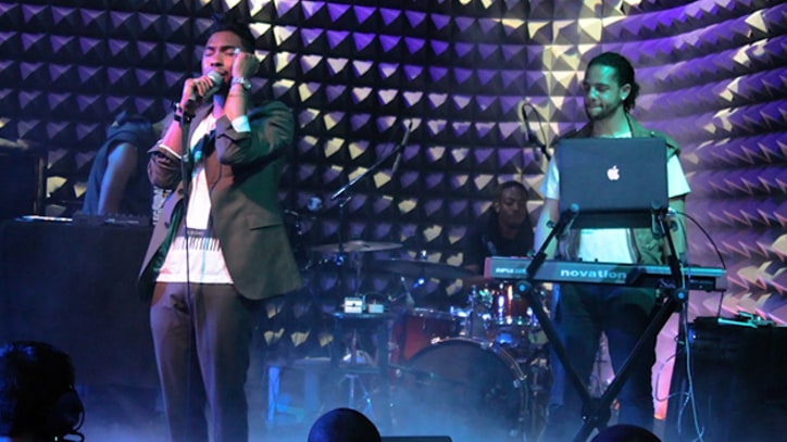 Miguel Burns Bright at 'Kaleidoscope' Release Show in New York