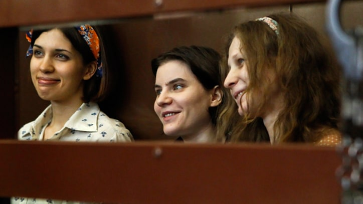Pussy Riot Trial in Moscow Erupts in Chaos