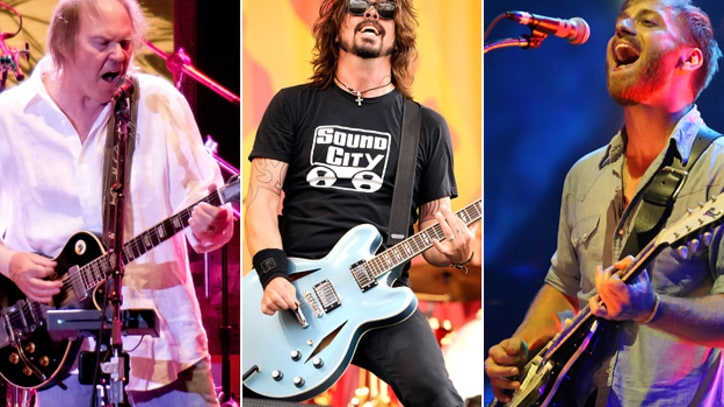 Neil Young, Foo Fighters, Black Keys to Headline Global Festival in Central Park