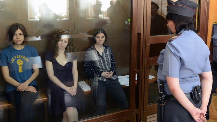 Pussy Riot Make Final Pleas in Moscow Court