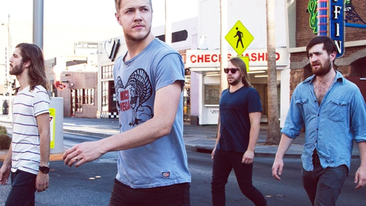 Imagine Dragons Prepped for Debut Playing for Bikini-Clad Blackjack Dealers