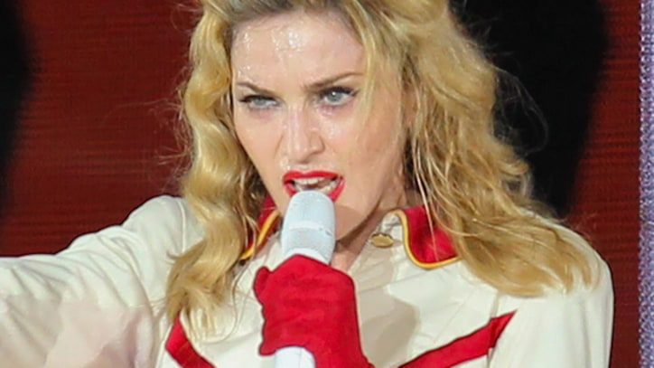 Madonna Replaces Swastika in Video Image of French Politician