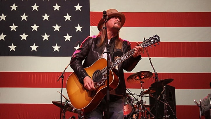 Kid Rock Supports Paul Ryan at Campaign Fundraiser