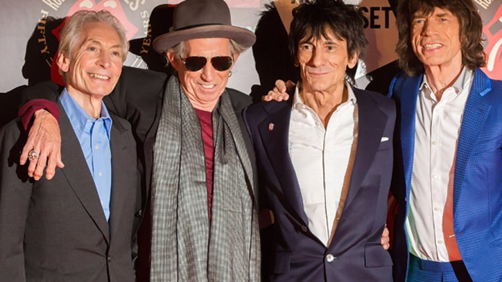 Rolling Stones Recording in France