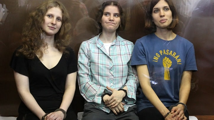 Pussy Riot Members Appeal Convictions