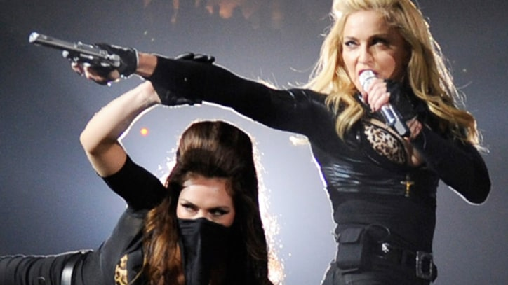 Madonna Aims for Perfection at U.S. Tour Kickoff in Philadelphia