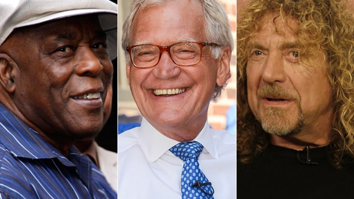 Led Zeppelin, Buddy Guy, David Letterman to Receive Kennedy Center Awards
