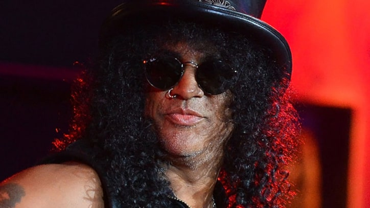 Slash 'Embarrassed' by Story About Mom Naked With David Bowie