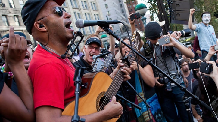 Song Premiere: Tom Morello, Tim McIlrath, Serj Tankian and Occupy Wall Street, 'We Are the 99 Percent'