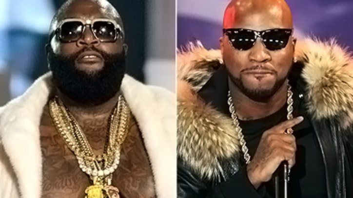 Report: Rick Ross and Young Jeezy Brawl at the BET Hip-Hop Awards