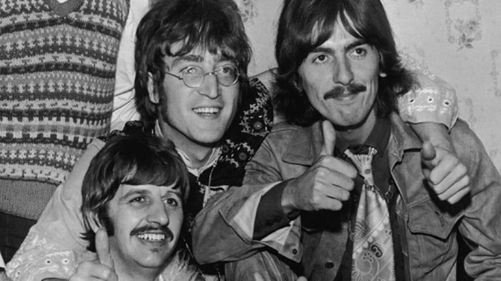 Watch the Beatles Chow Down on Fish and Chips