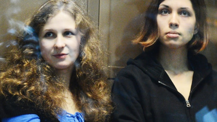 Pussy Riot Members Sent to Russian Prison Colonies