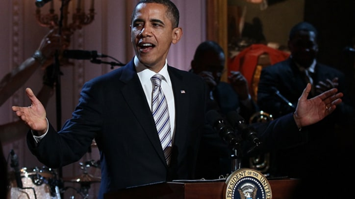 Mick Jagger, B.B. King Celebrate the Blues with President Obama