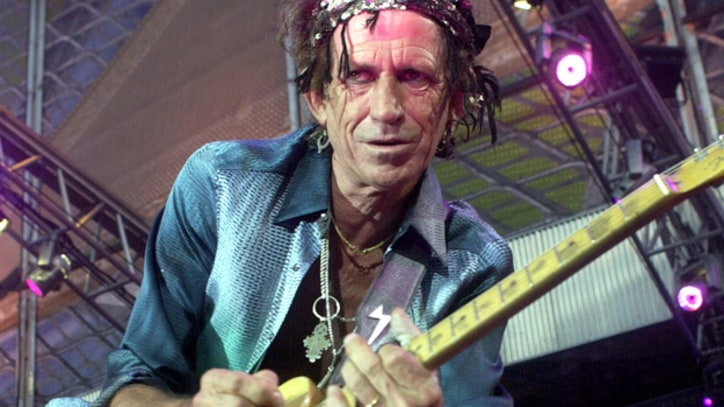 Keith Richards Gets His Blues On