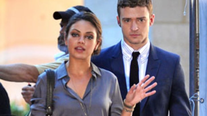 Mila Kunis: Seeing Justin Timberlake's 'Bits and Pieces' Was 'Wrong'