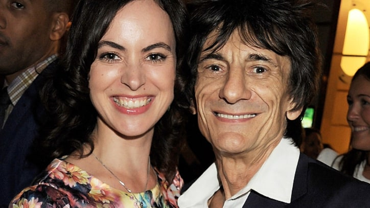 Ronnie Wood Engaged to 34-Year-Old Theater Producer