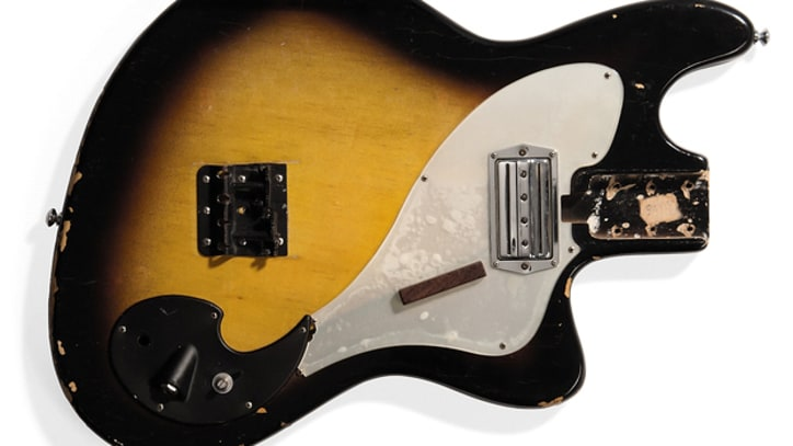 Nirvana's Smashed 'Smells Like Teen Spirit' Bass Up for Auction