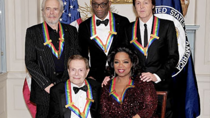 McCartney, Haggard Honored at Kennedy Center Awards