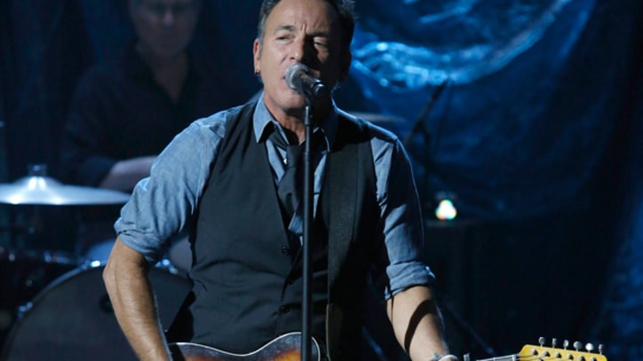 Springsteen Leads Stars in Sandy Benefit
