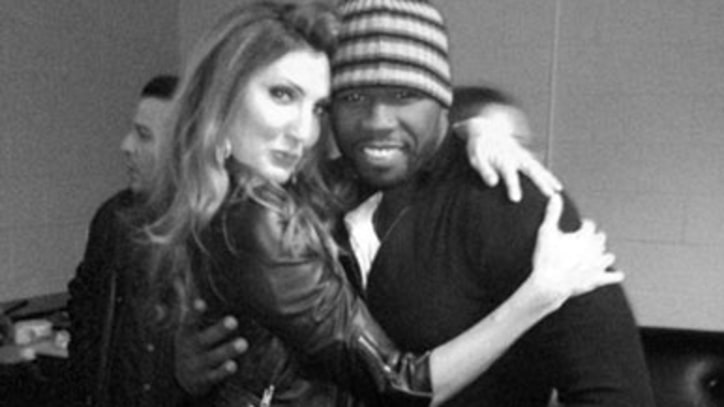50 Cent Cheers on Chelsea Handler, Flirts With Pal