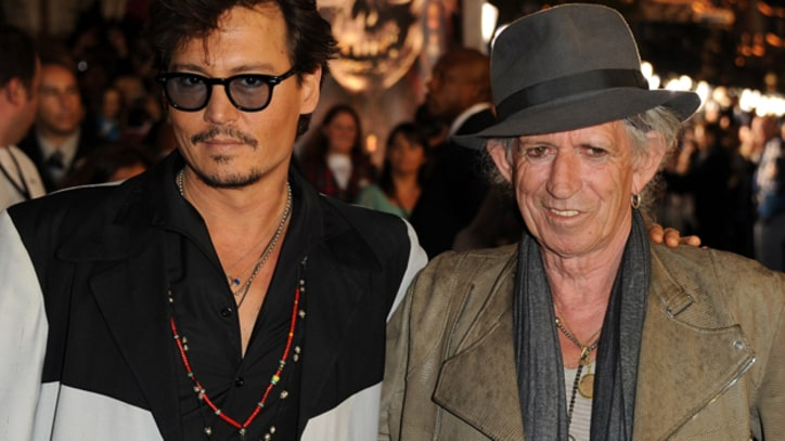 Johnny Depp Directs Keith Richards Documentary