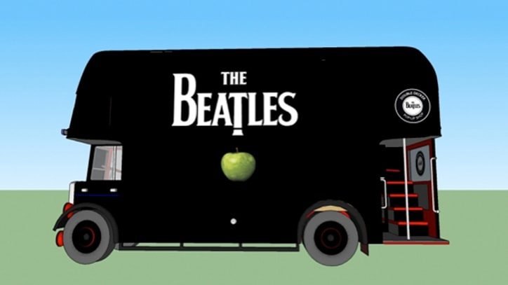 Beatles Buses Headed for New York, L.A.