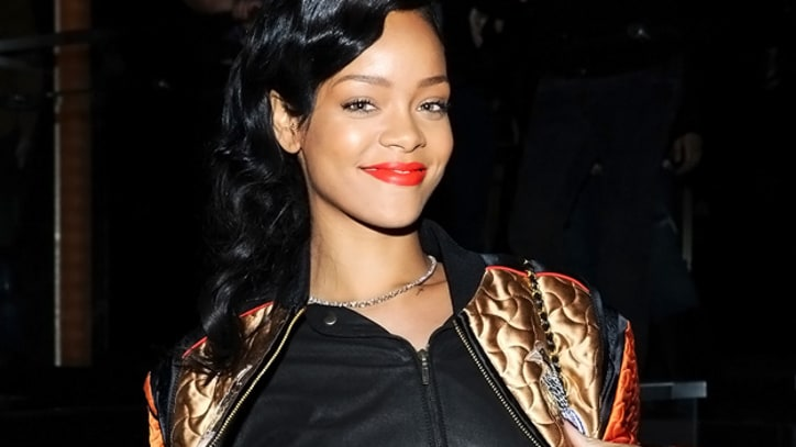 Rihanna Previews 'Unapologetic' at Benefit for Hurricane Sandy Victims