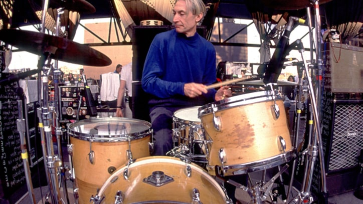 Performance: Charlie Watts Pays the Tunes of Charlie Parker