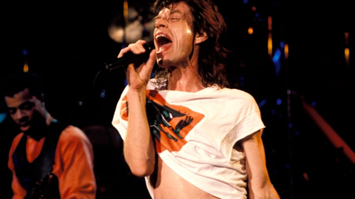 Mick Jagger Scores Down Under