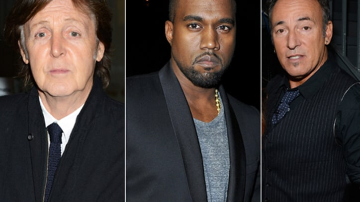Paul McCartney, Kanye, Springsteen Lead '12-12-12' Sandy Benefit