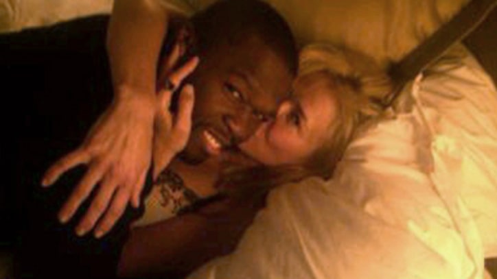 Chelsea Handler Snuggles in Bed With 50 Cent