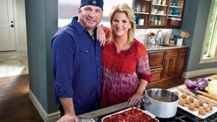 Garth Brooks Is In The Kitchen! Superstar Teams With Wife Trisha Yearwood On Cooking Show