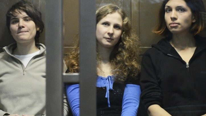 Jailed Pussy Riot Member Moved to Solitary Cell