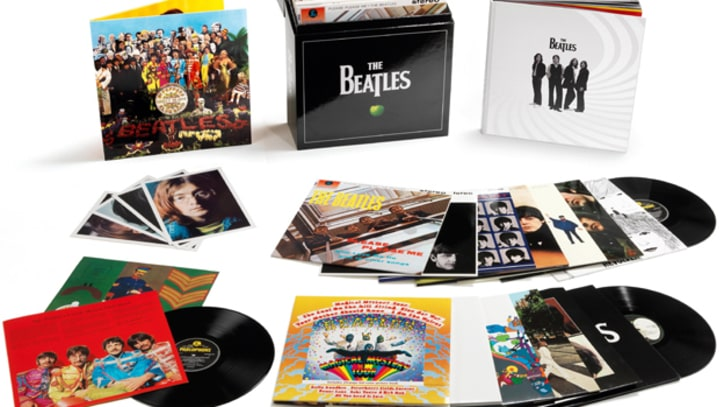 Win a Beatles Remasters Vinyl Box Set