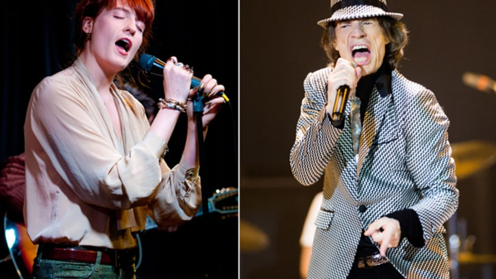 Rolling Stones Tap Eric Clapton and Florence Welch for London Show