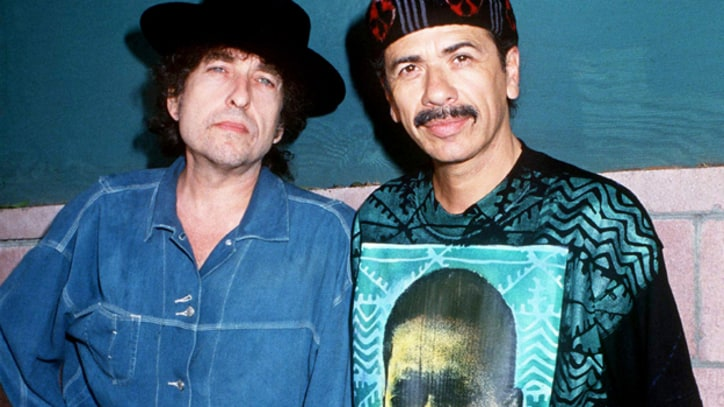 Bob Dylan and Santana Play Chilly Jones Beach Gig